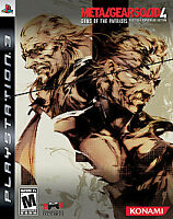 Metal Gear Solid 4 Guns of the Patriots - Limited Edition (PlayStation 3 + MOVIE