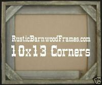 10x13 C rustic barnwood barn wood picture photo frame