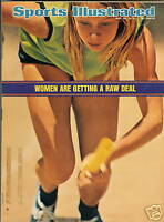 Sports Illustrated May 28, 1973 Women getting raw deal
