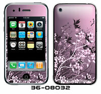 Iphone 3G/3GS Skin w/armor - PINK BLOSSOMS