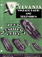 Sylvania TUBE SUBSTITUTION GUIDE FOR OLD TVS & RADIO CD