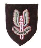New Official Special Air Service SAS Colour Cap Badge
