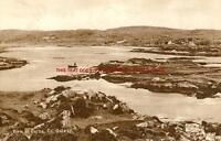 """Galway Carna old b/w Irish Photo 14"""" x 11"""" Mounted"""
