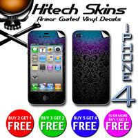 Iphone 4 Skin - BLACK PEARL VICTORIAN