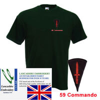 59 Commando RE Bottle Green T Shirt Extra Extra Large