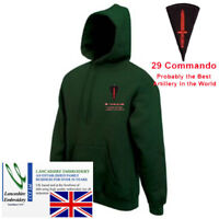 """29 Commando """"Probably The Best Artillery"""" Hoodie Large"""