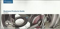 Plantronics BUSINESS PRODUCTS GUIDE Headset brochure advertisement 2011 CATALOG