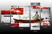 DEKOART BILDER KUNSTDRUCK DESIGN WANDBILD FENG SHUI LEINWAND BILD 150cm/90cm
