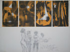 """Jazz band"" lithographie signée CHIMKEVITCH Sacha"