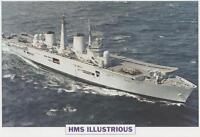 Lg Photo Print -  HMS Illustrious - Royal Navy  (KS15)