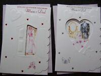 MUM and DAD  25th, 40th,  50th WEDDING ANNIVERSARY card