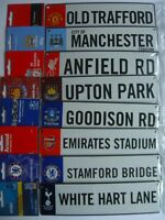 Official FOOTBALL - 3D HANGING Metal Window Sign {11 Clubs} (Gift/Room/Xmas)
