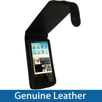 Black Leather Case Cover Holder for Archos 32 Android Internet Tablet 8gb