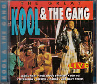 KOOL & THE GANG CD The Great (Live) - PORTUGAL
