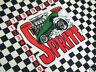 Austin Healey Frogeye Sprite Mk1 Cartoon Sticker