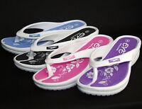 "New Women's EVE Flip Flops Sport Sandals Beach Casual Shoes Heel 1"" 3/4  White"