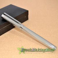 free shipping JINHAO 155 NOBLEST silver Medium nib fountain pen new