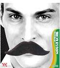 MOUSTACHE Noire ROI Médiéval Déguisement Adulte Homme Costume Moustaches