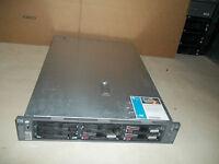 HP Proliant DL380 G4 Server 2X 3.4GHz Xeon CPUs 4GB 3x73GB 2U Rackmount 64-Bit