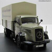 SCHUCO Mercedes-Benz L6600 mit LKW-Anhänger DTC Maßstab 1:43 - OVP