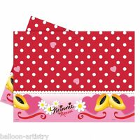 180cm Disney Minnie Mouse Red Polka Dots Party Plastic Table Cover
