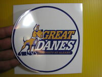 "BEST PRICE!! LOT OF 10 NCAA COLLEGE DECAL / STICKER ALBANY UNIVERSITY 5"" X 5"""