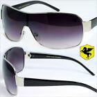 Womens Designer Sunglasses Pegasus One Piece Lens Fashion Eyewear Black PG4803
