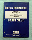 VN COMMODORE CALAIS Holden GMH Factory Workshop Service Repair Manual exhaust 6