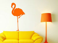 Flamingo standing on one leg amazing wall stickers vinyl decal highest quality