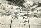 1957 PRALI (TO) Panorama e campi di sci presso GHIGO*Cartolina animata FG VG