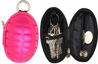 Hand Grenade Coin and Key Purse Case Handy Pouch / Wallet