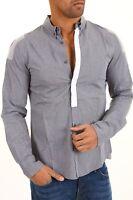 Camicia Uomo Maniche Lunghe BRAY STEVE ALAN Shirt 19B5001 A658 Tg M