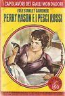 1961 Erle Stanley GARDNER Perry Mason e pesci rossi *Capolavori GIALLI MONDADORI