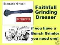 Faithfull Grinding Wheel Dresser  -  Bench Grinder Tool