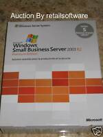 Microsoft Windows Small Business Server 2003 R2 Premium French, 5 CAL, New SBS