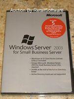 Microsoft Windows Server 2003 for Small Business Server SP2 5 CAL SBS T73-01060