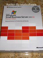 Microsoft Windows Small Business Server 2003 R2 Premium 5 CAL, New SBS T75-01255