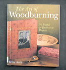 THE ART OF WOODBURNING book Betty Auth pyrography wood burning projects designs
