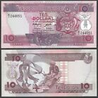 Solomon Islands 10 DOLLARS ND 1986 P 15 UNC