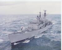HMS CARDIFF - Large Royal Navy Colour Photo (Ref J127)