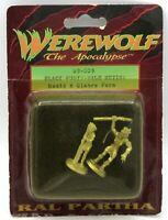 Ral Partha 69-009 Werewolf Black Furys Male Metis Homid & Glabro (2) Miniatures