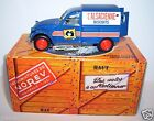 NOREV HACHETTE CITROEN 2CV AZU 1958 BISCUITS L'ALSACIENNE IN BOX 1/43