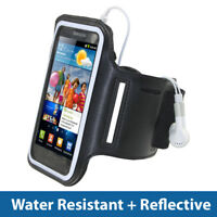 Black Sports Armband for Samsung Galaxy S2 II i9100 Android Gym Running Jogging