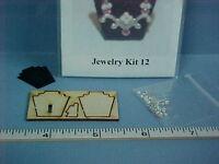Jewelry and Display Stand Kit -  #JK012  Dollhouse Miniature