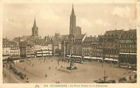 67 STRASBOURG PLACE KLEBER ET CATHEDRALE ANIMEES