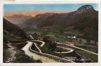 63 CARTE PHOTO MONT-DORE VALLEE DU SANCY ET CAPUCIN