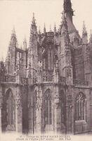 50 LE MONT SAINT MICHEL abside de l'eglise