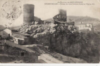 42 ROCHETAILLEE LES RUINES chateau