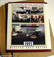 1991 & 1995 NHRA Hot Rod Winston Drag racing Funny car Brand New yearbook Lot