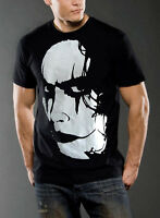The Crow Movie graphic cotton t-shirt top BLACK tee classic MEN new casual S M